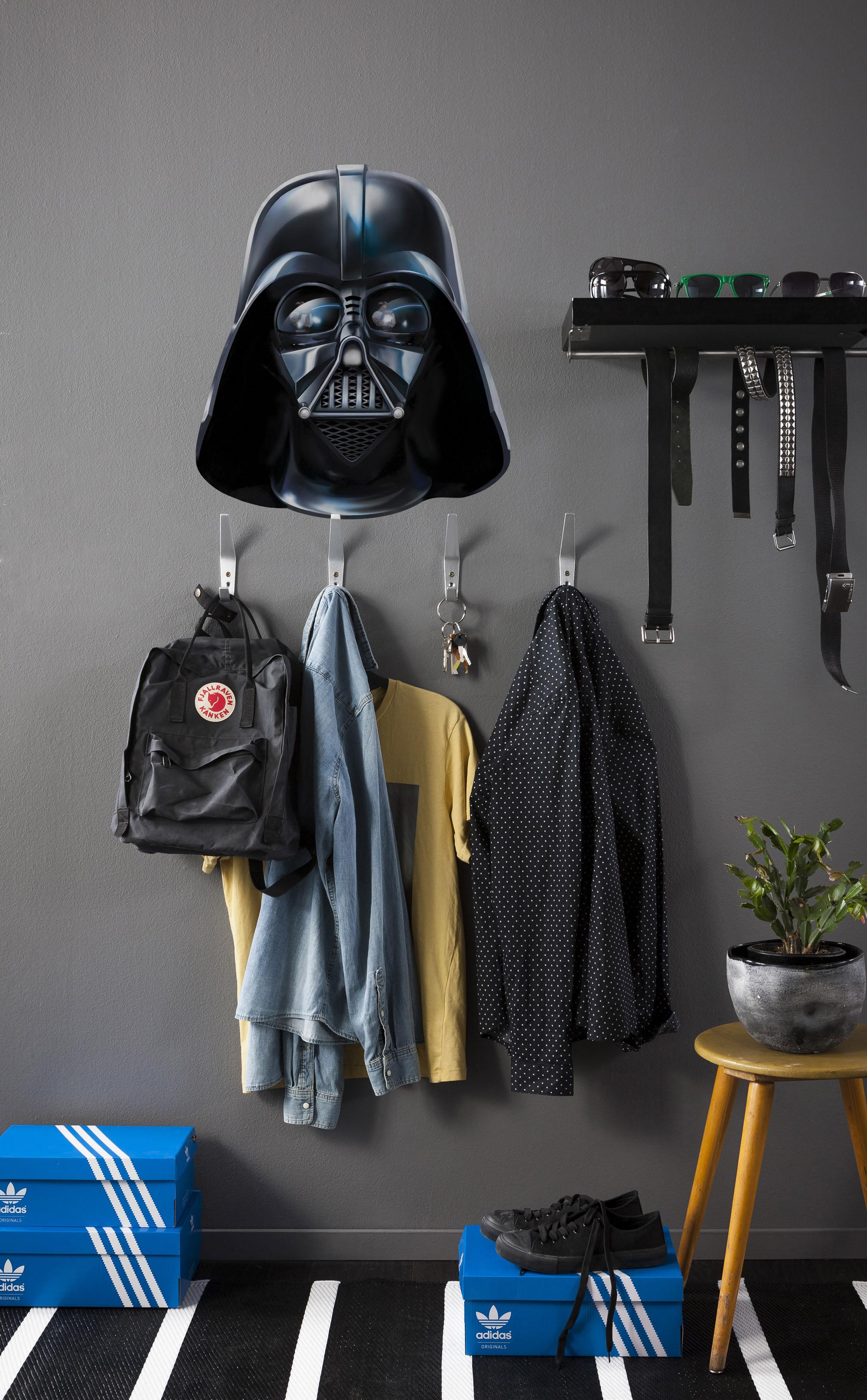 wandsticker star wars darth vader von komar. Black Bedroom Furniture Sets. Home Design Ideas