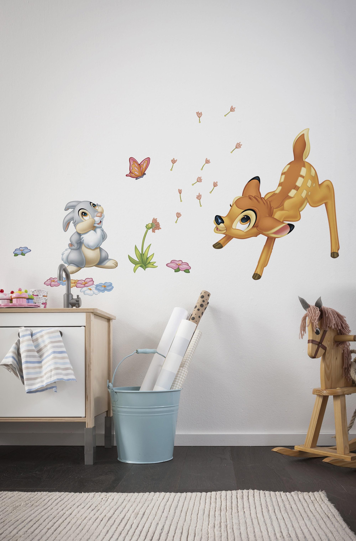 Wandsticker bambi von komar disney for Fototapete babyzimmer
