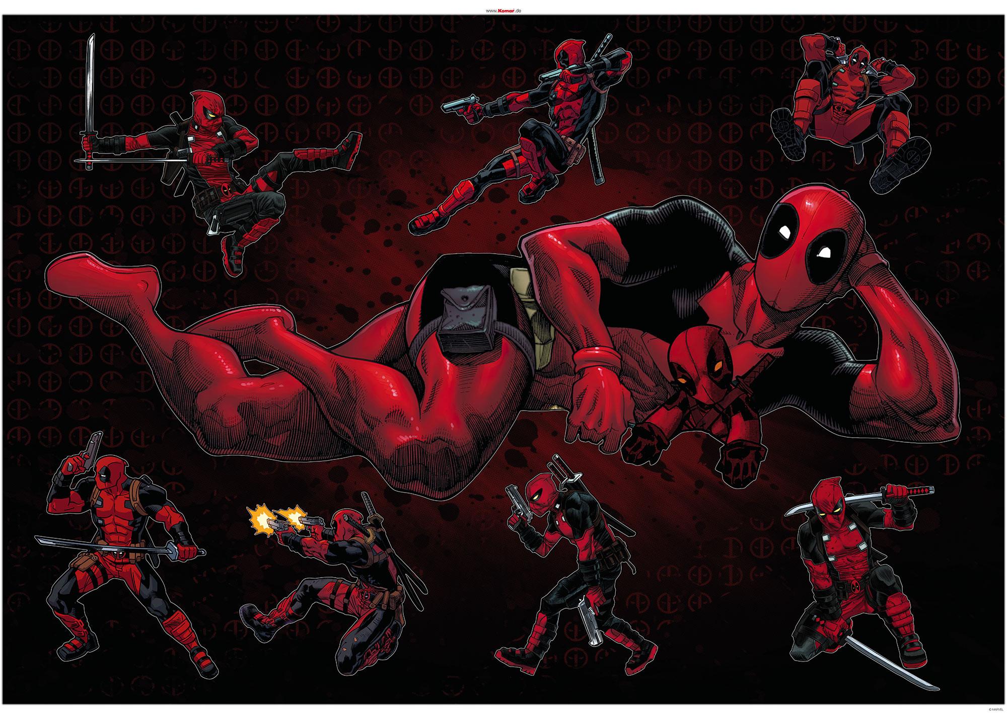Deadpool Posing