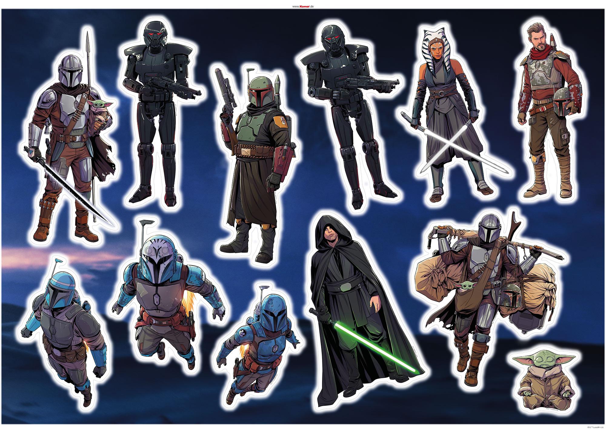Mandalorian Iconic Figures