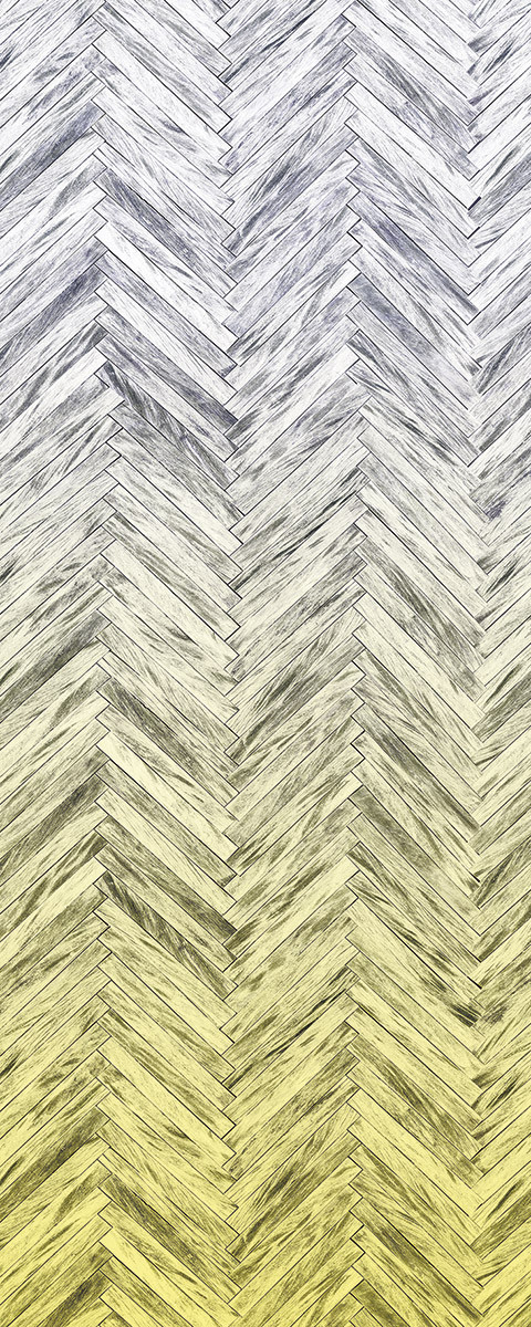 Herringbone Yellow Panel