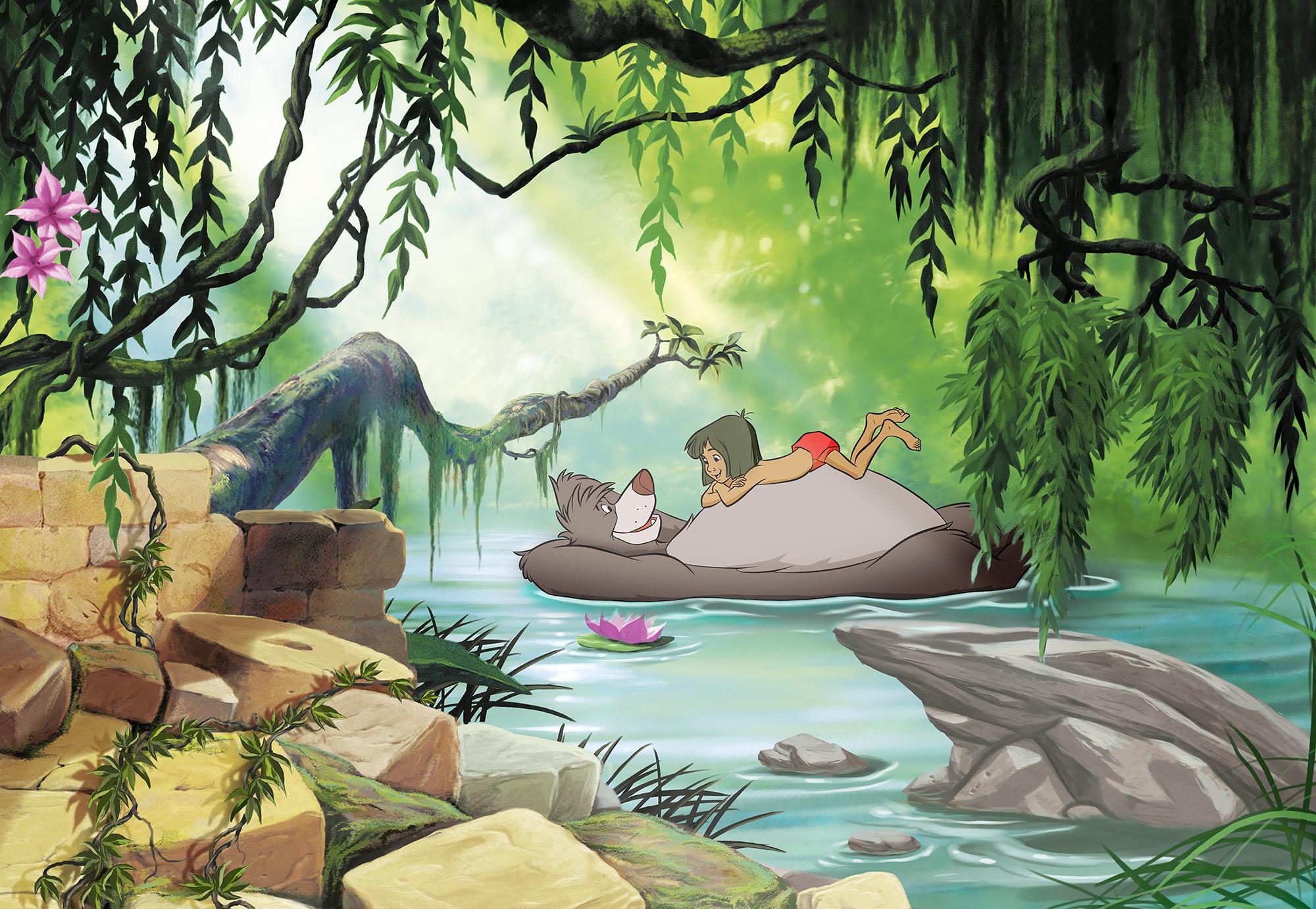 Jungle book swimming with Baloo