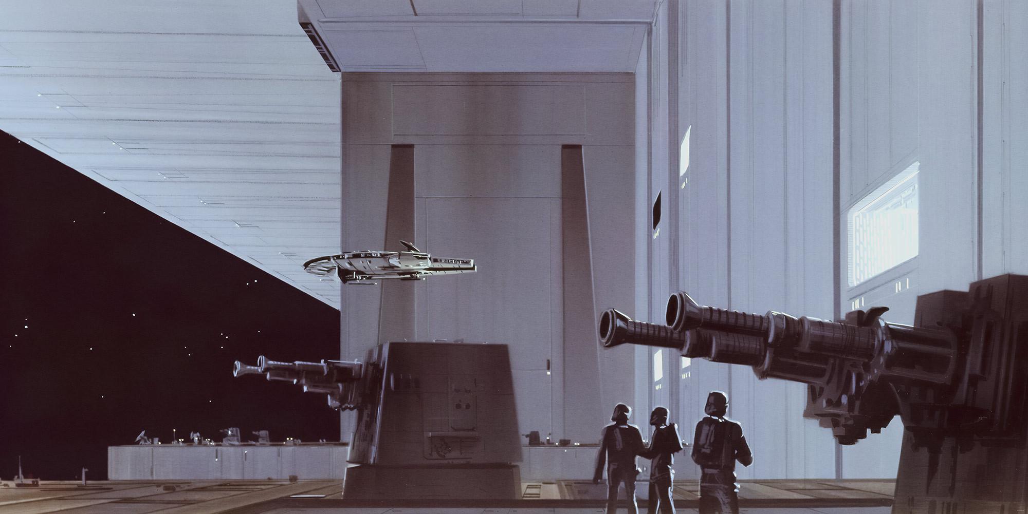 Star Wars Classic RMQ Death Star Hangar