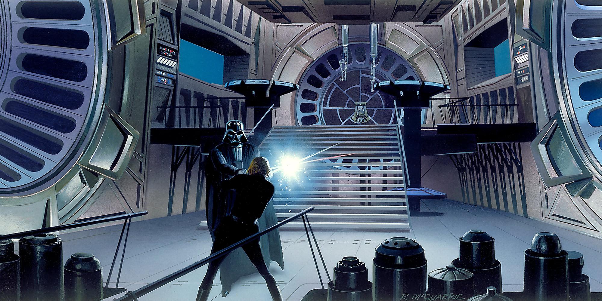 Star Wars Classic RMQ Duell Throneroom