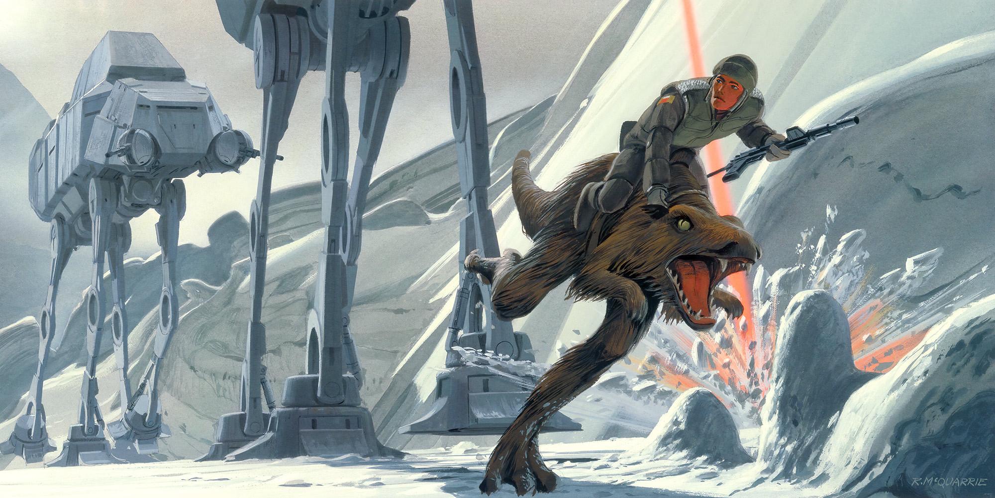 Star Wars Classic RMQ Hoth Battle Ground