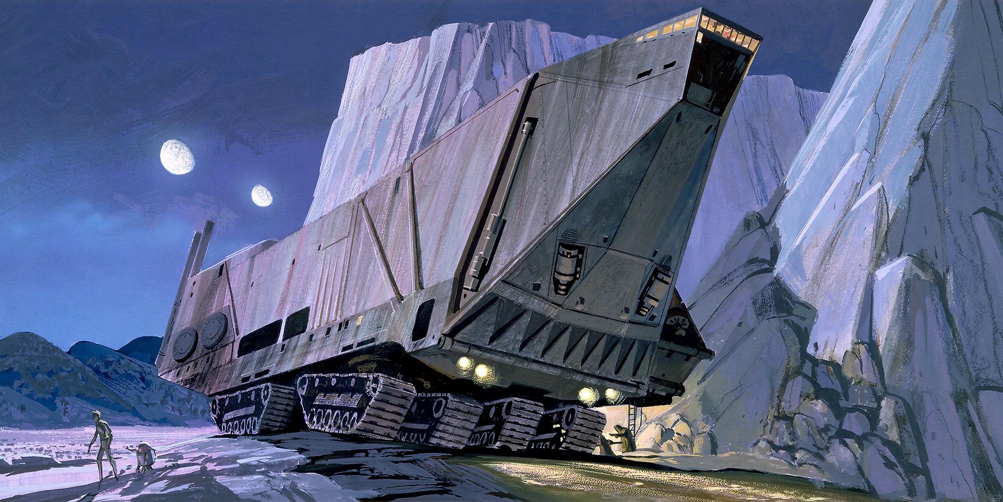 Star Wars Classic RMQ Sandcrawler