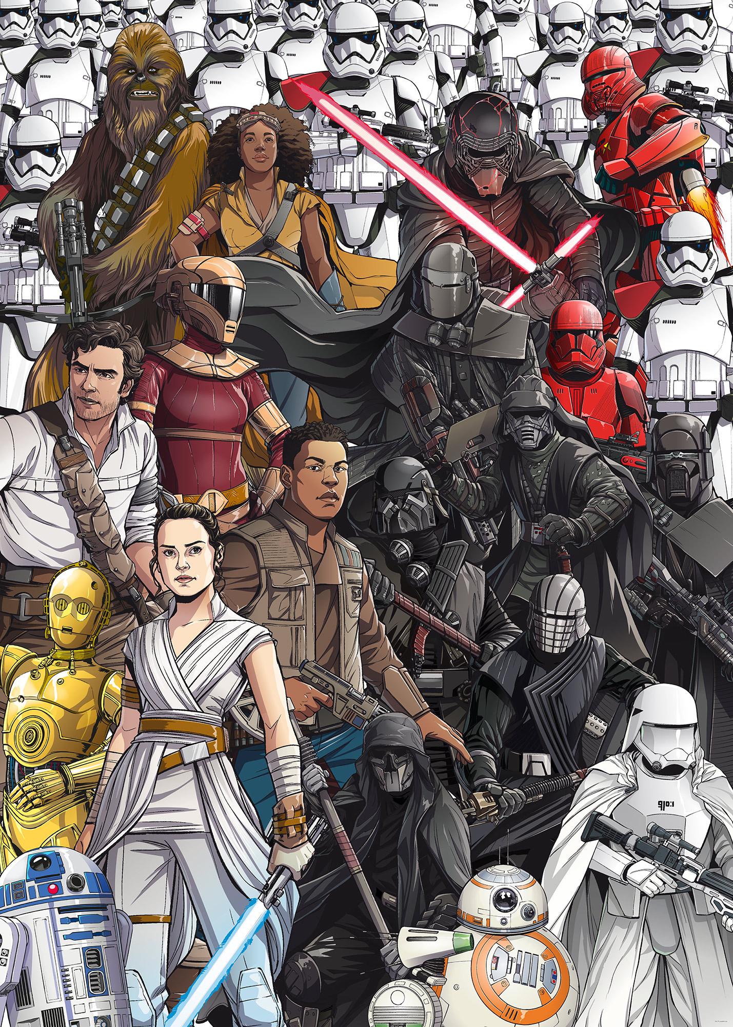 Star Wars Retro Cartoon