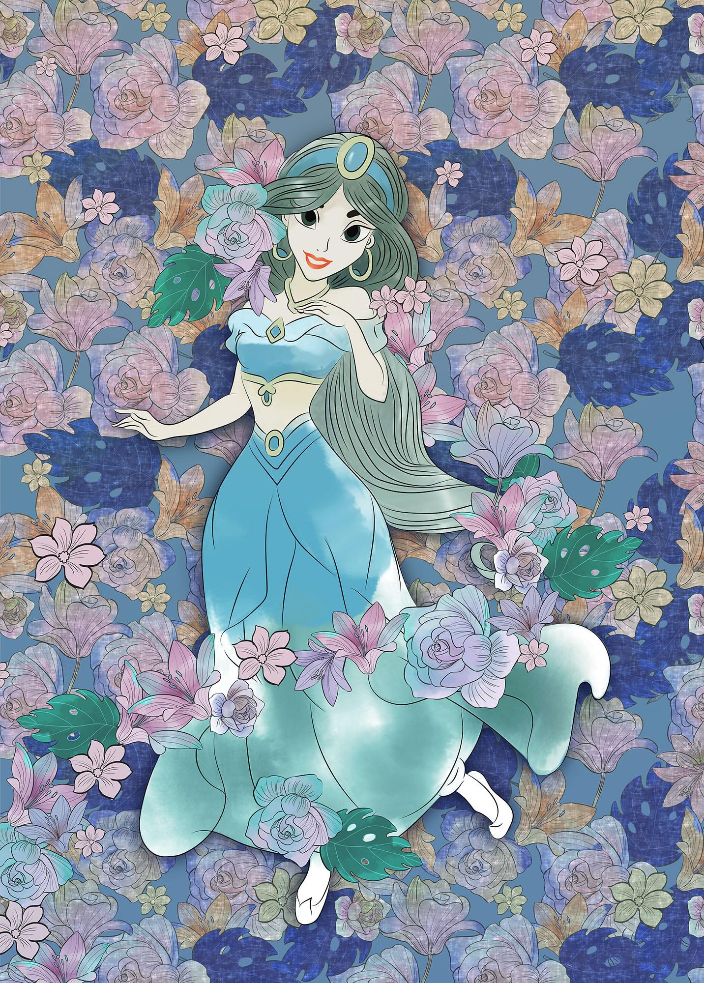 Jasmin Colored Flowers