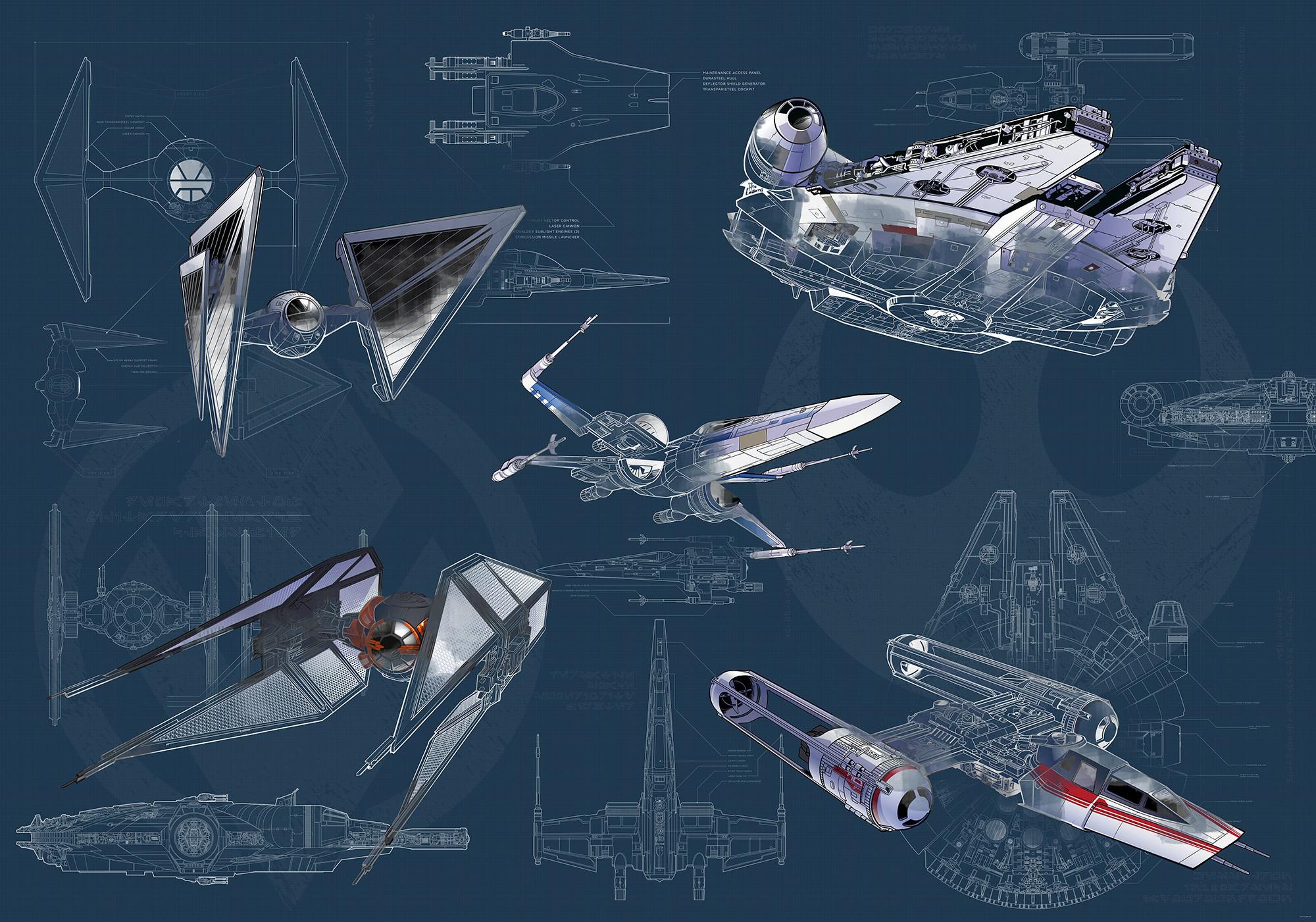 Star Wars Blueprint Dark