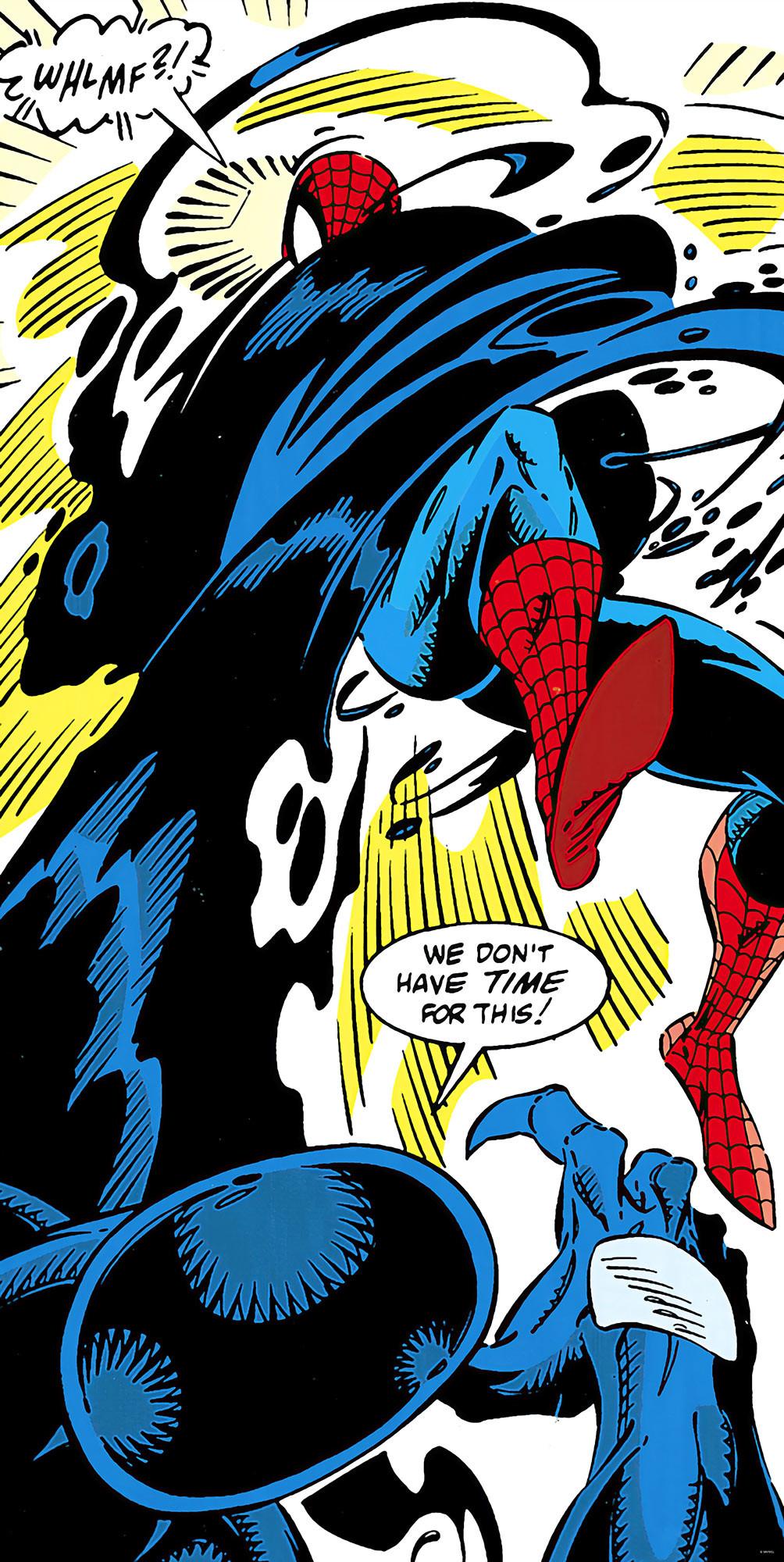 Spider-Man Retro Comic