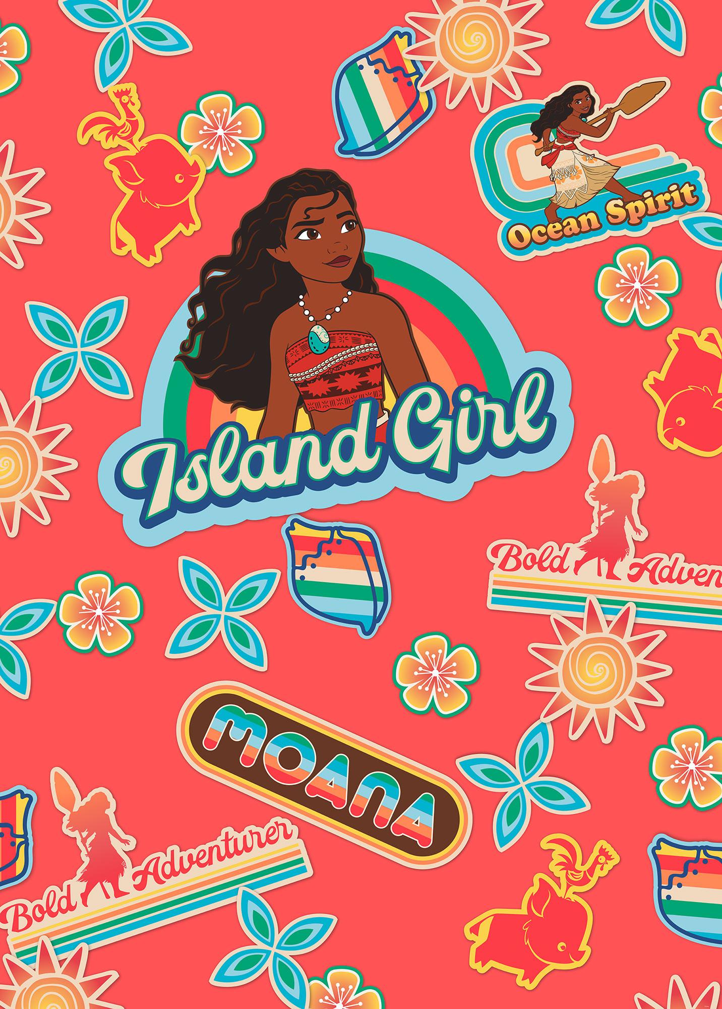 Moana Island Girl