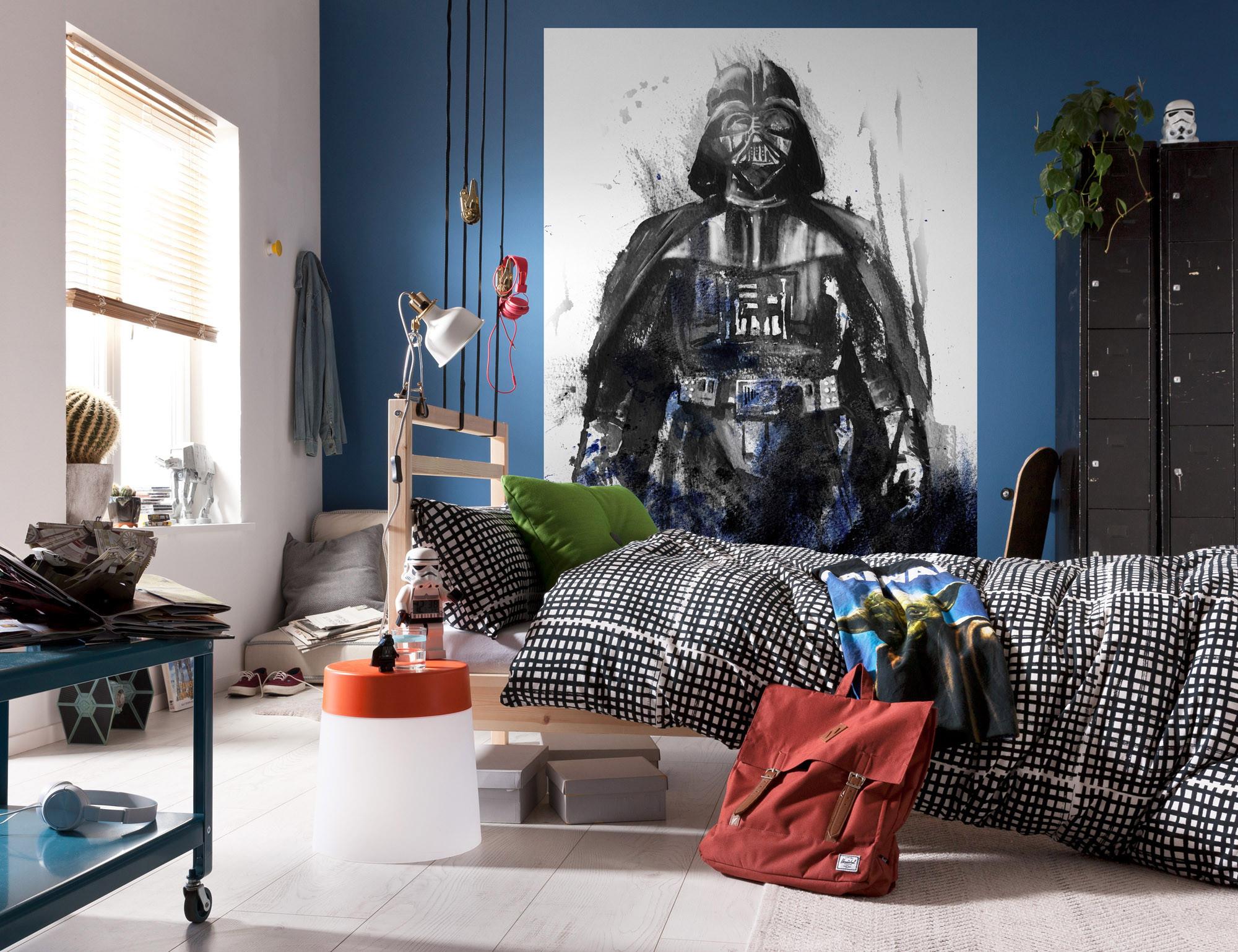 Star Wars Watercolor Vader