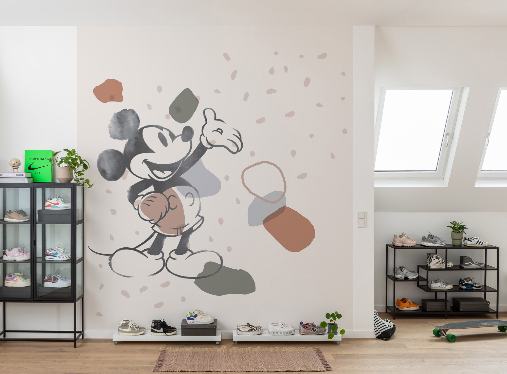 Mickey Organic Shapes