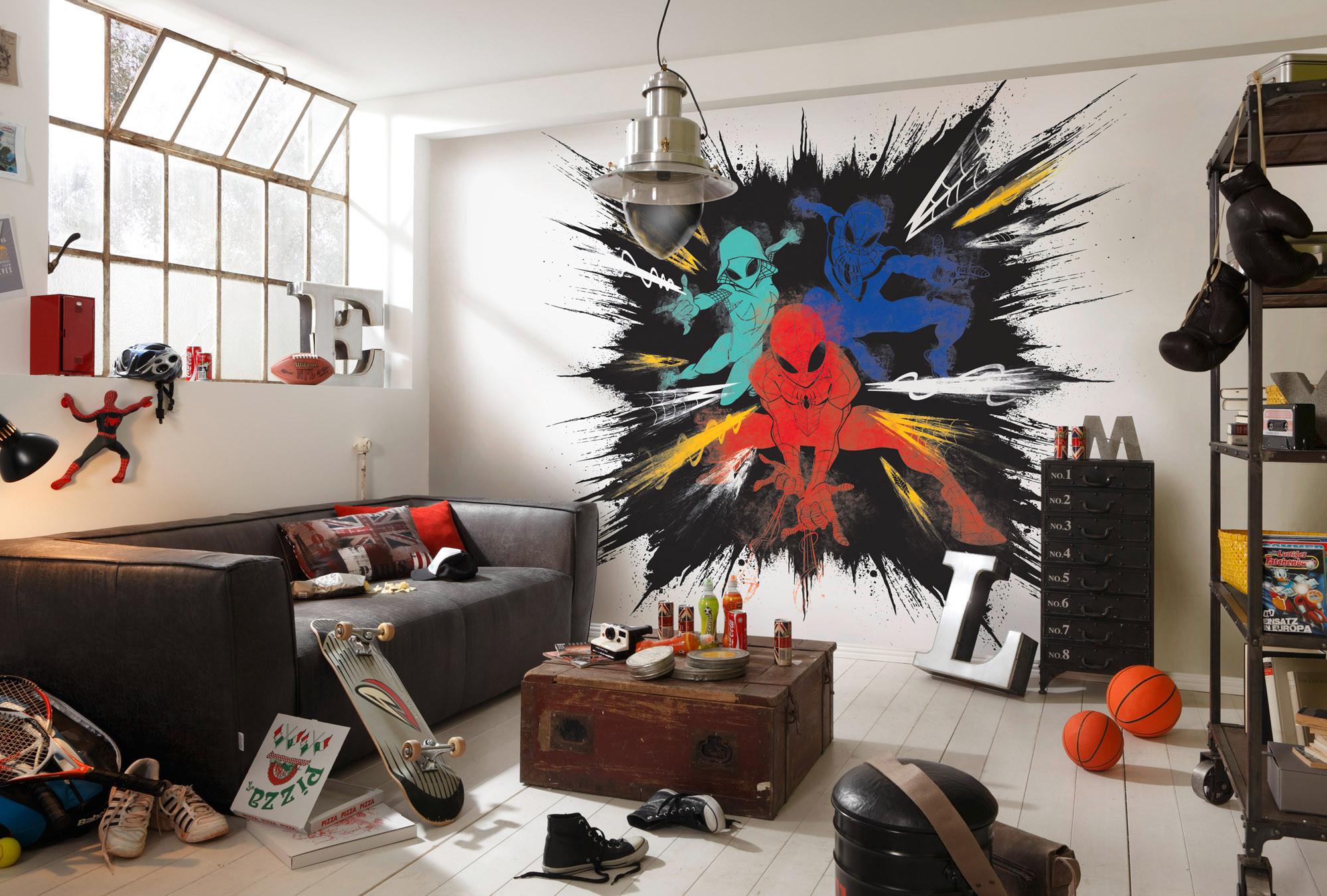 Spider-Man Color Explosion