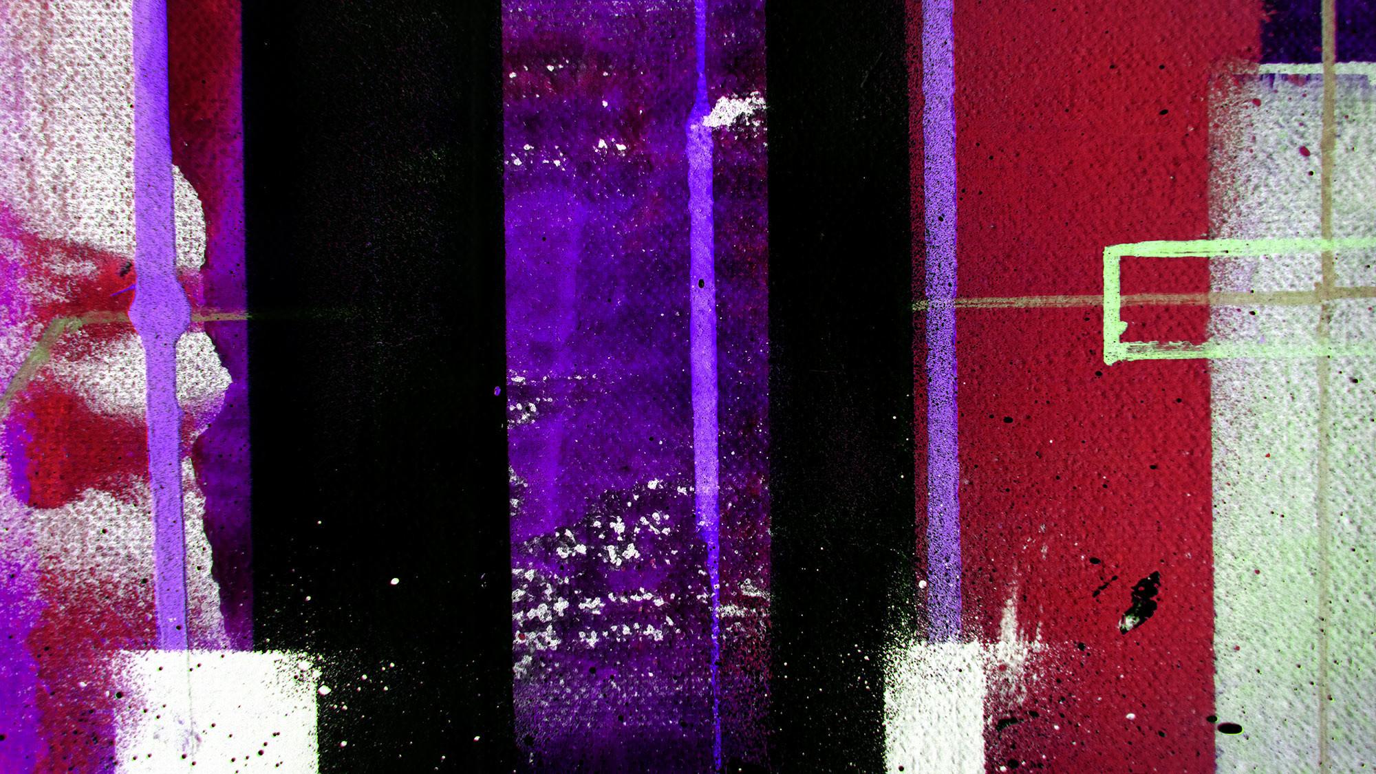 Traces Drizzling black-purple