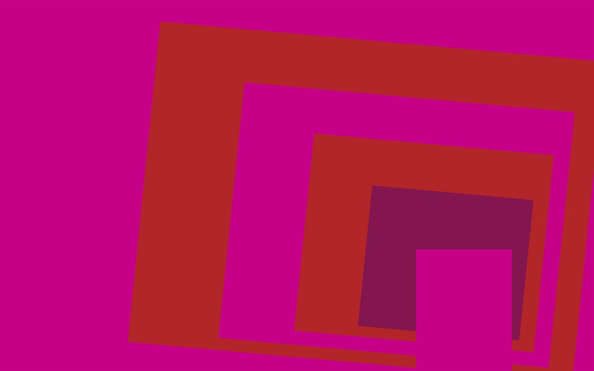 Blocking Oblique pink-red