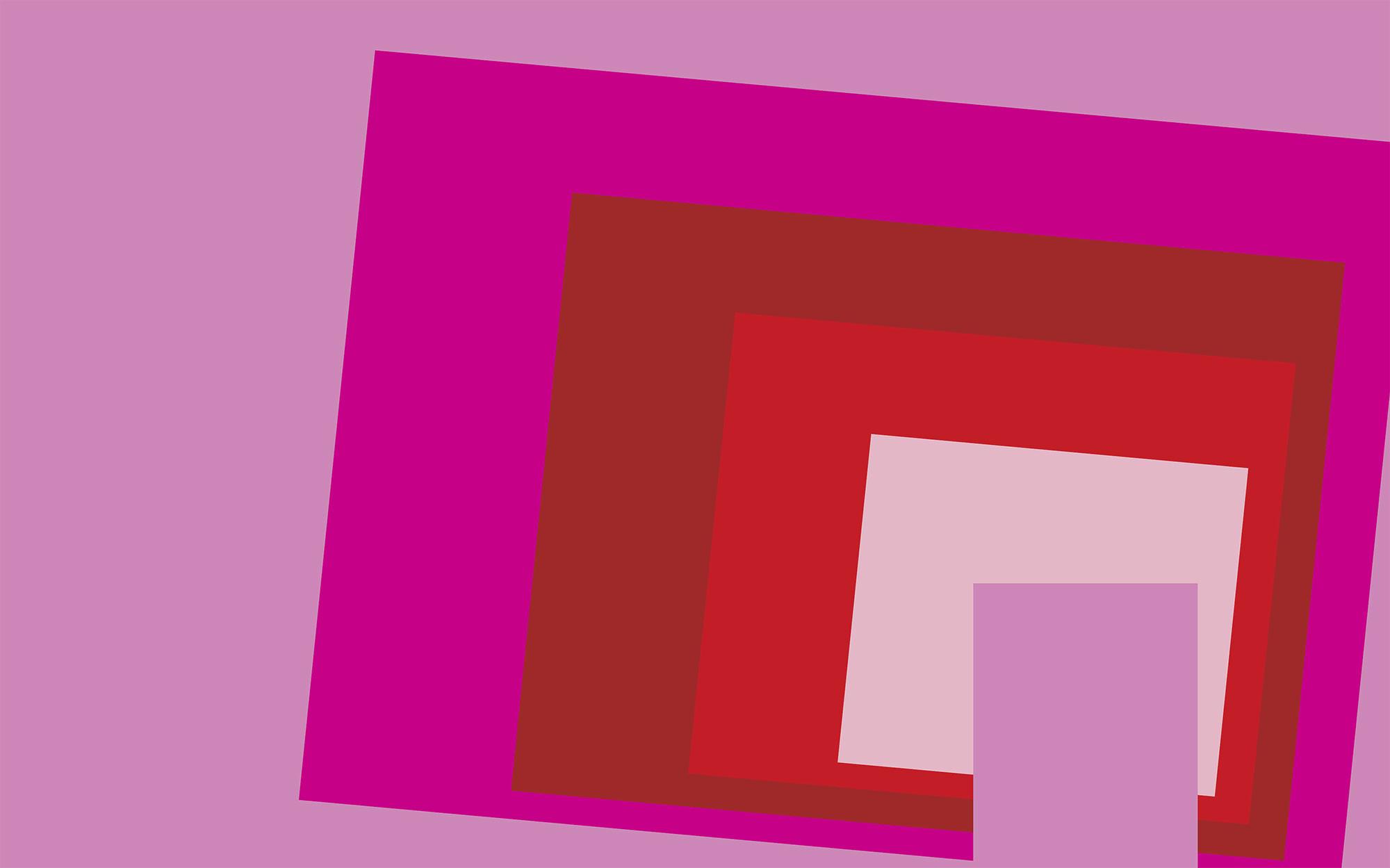 Blocking Oblique rose-red