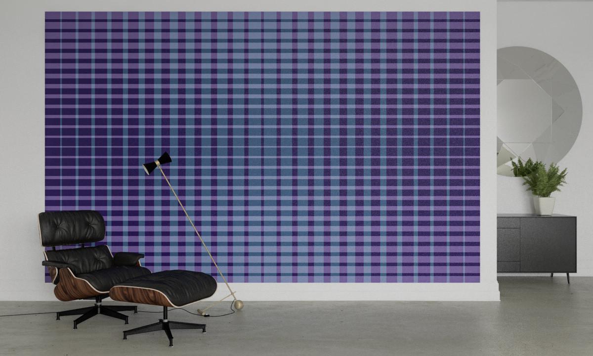 Chequered blue-purple