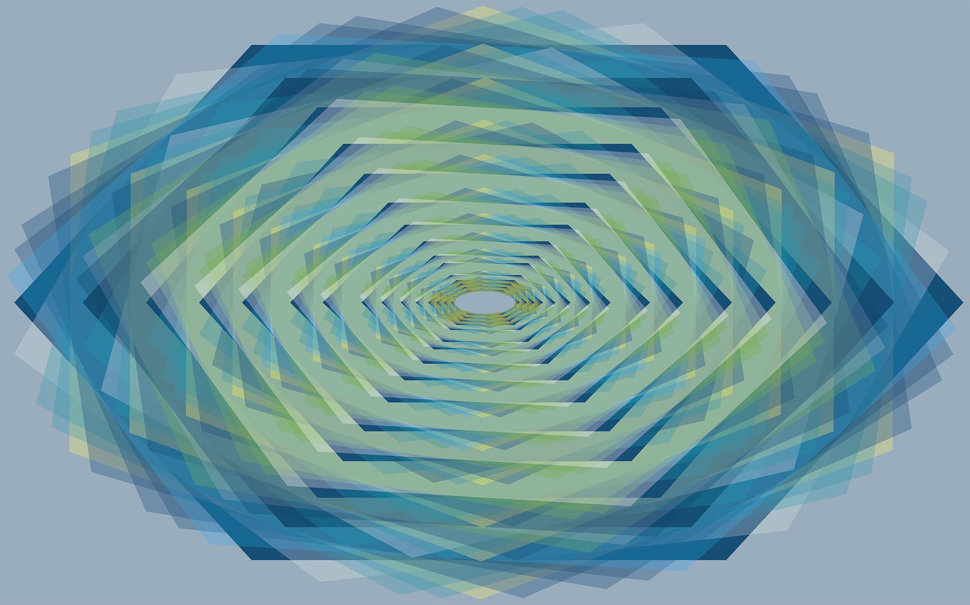 Crystal bleu-petrol