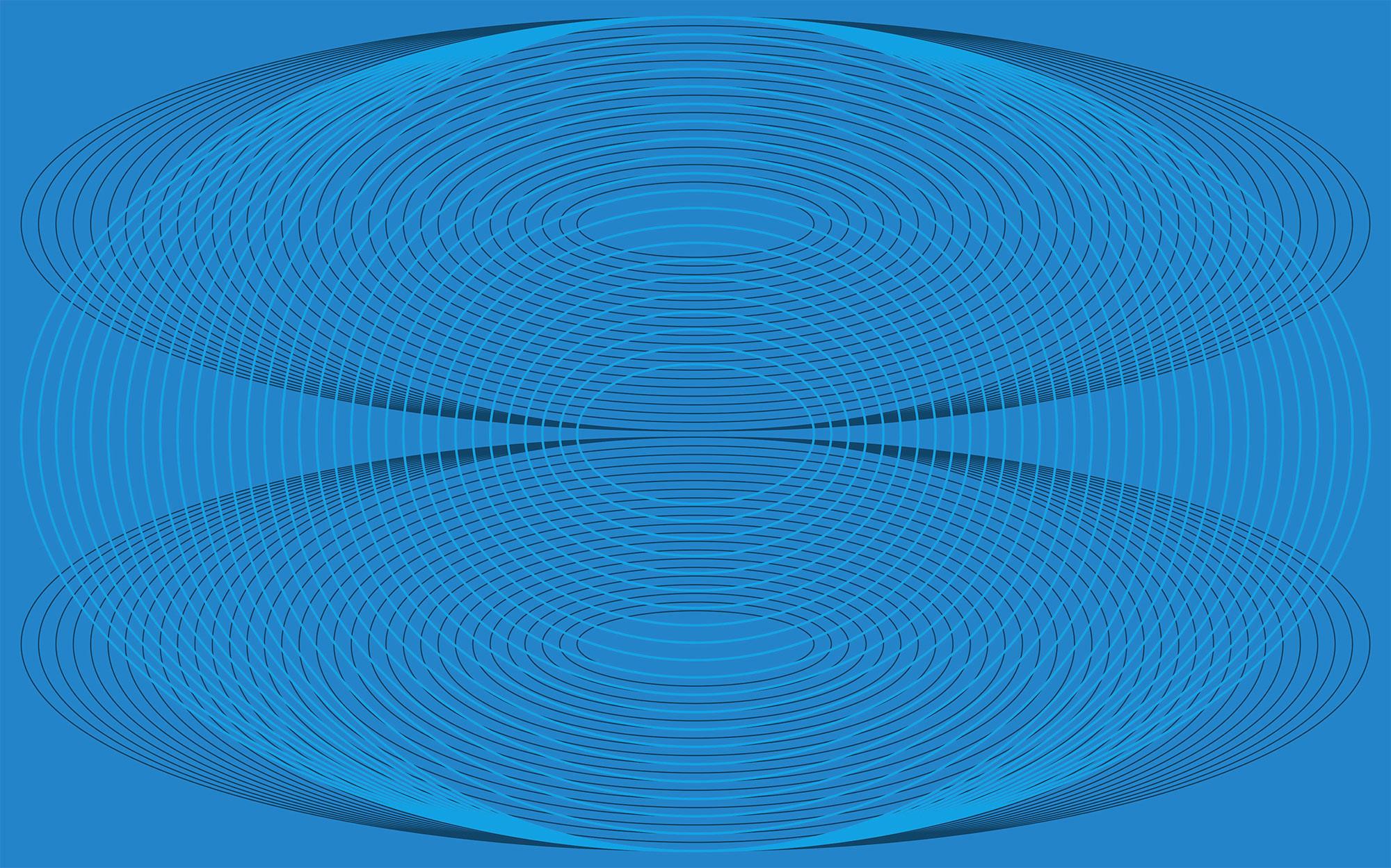 Eyes Wide Open Troika blue-blue