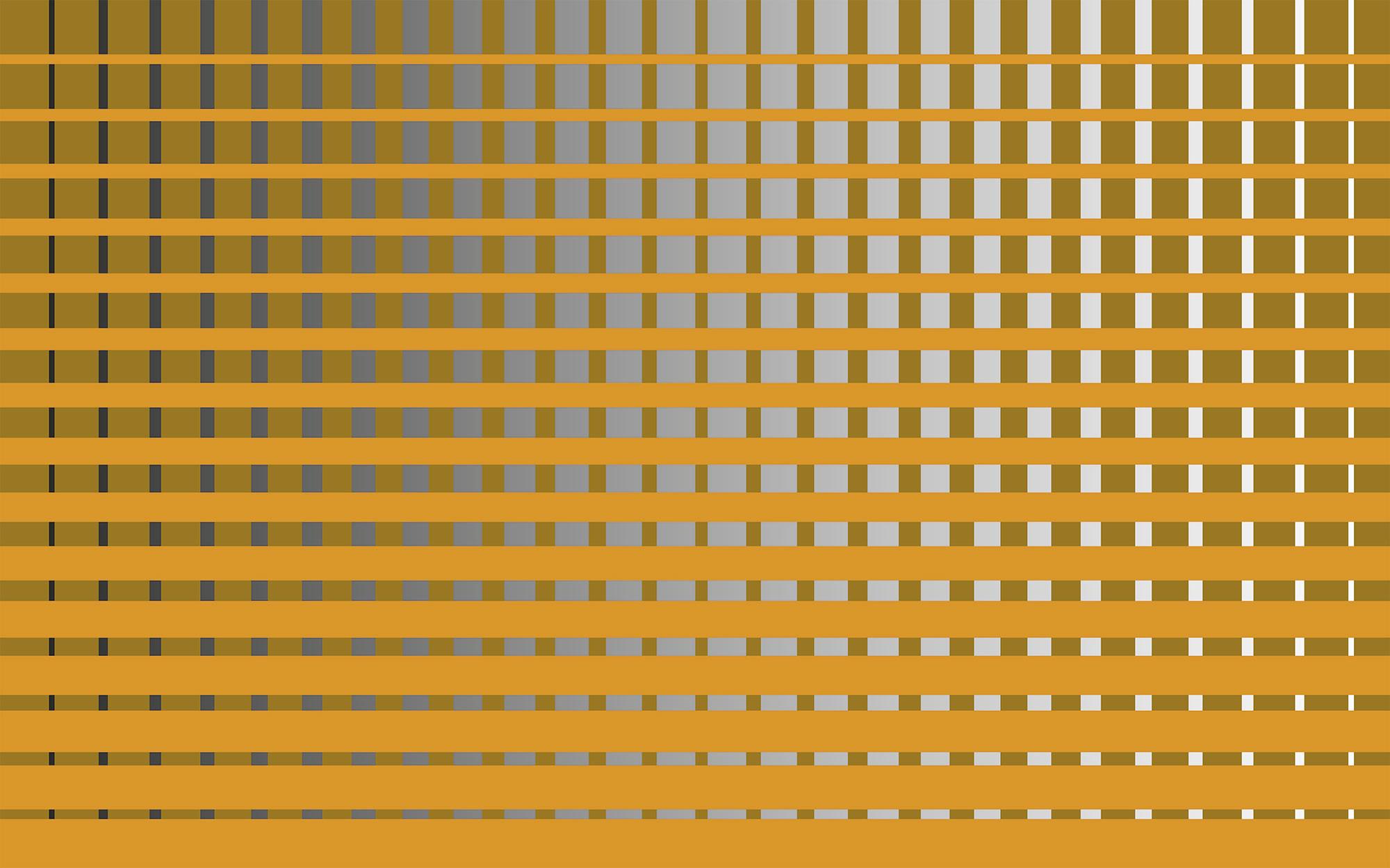 Griddy orangecognac-grey