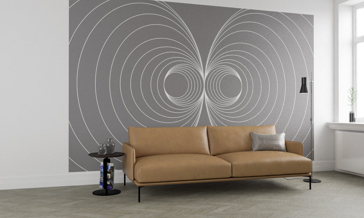 Infinite Glimpse Mirage grey-white