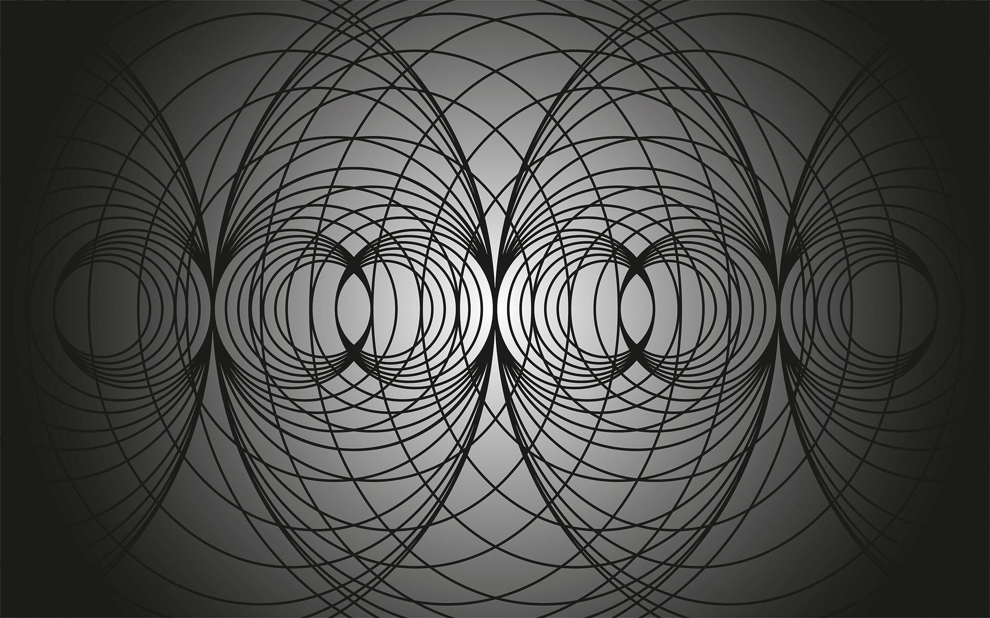 Infinite Glimpse Net black-grey-black
