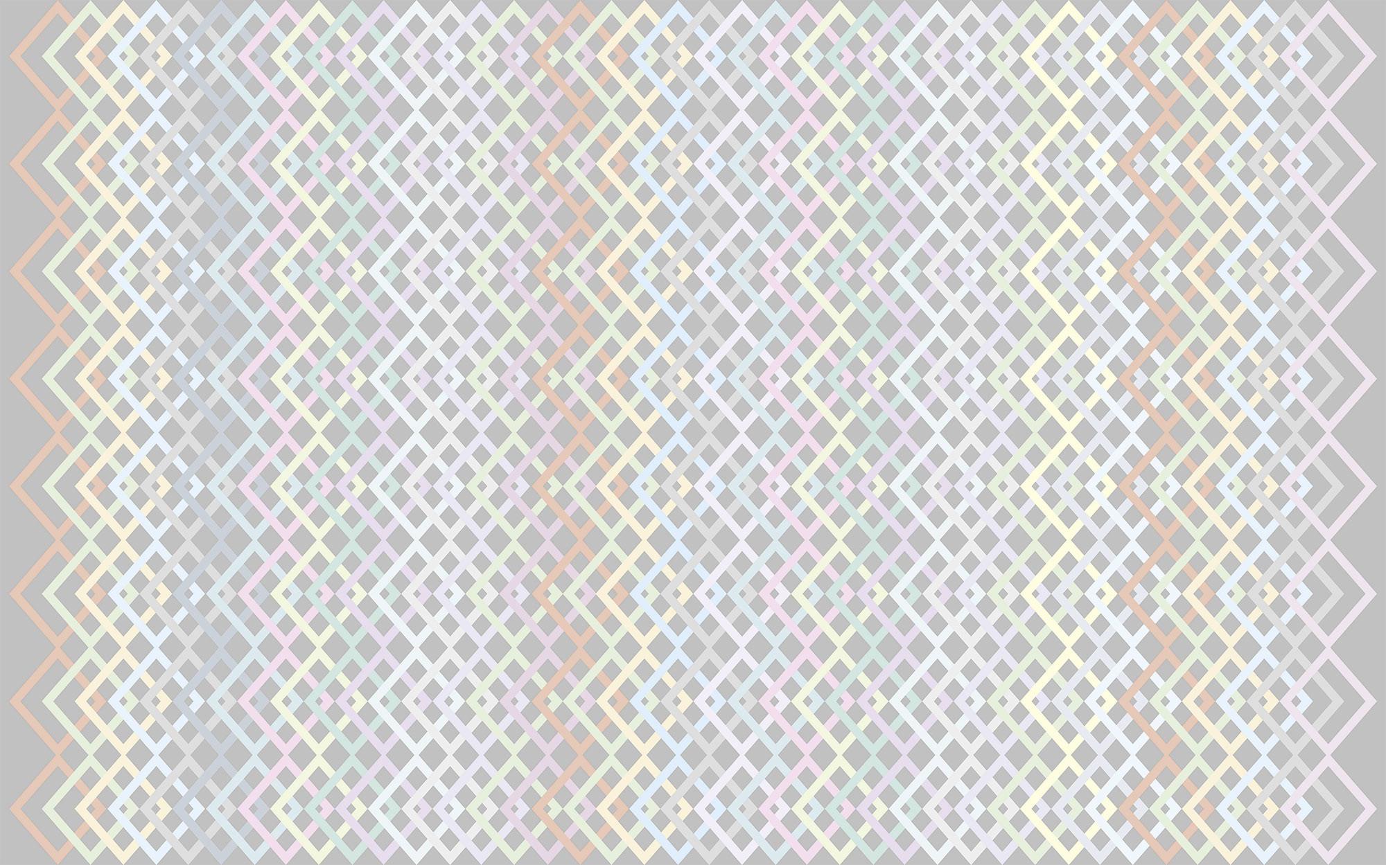 Structure Rhombus lightgrey-pastell