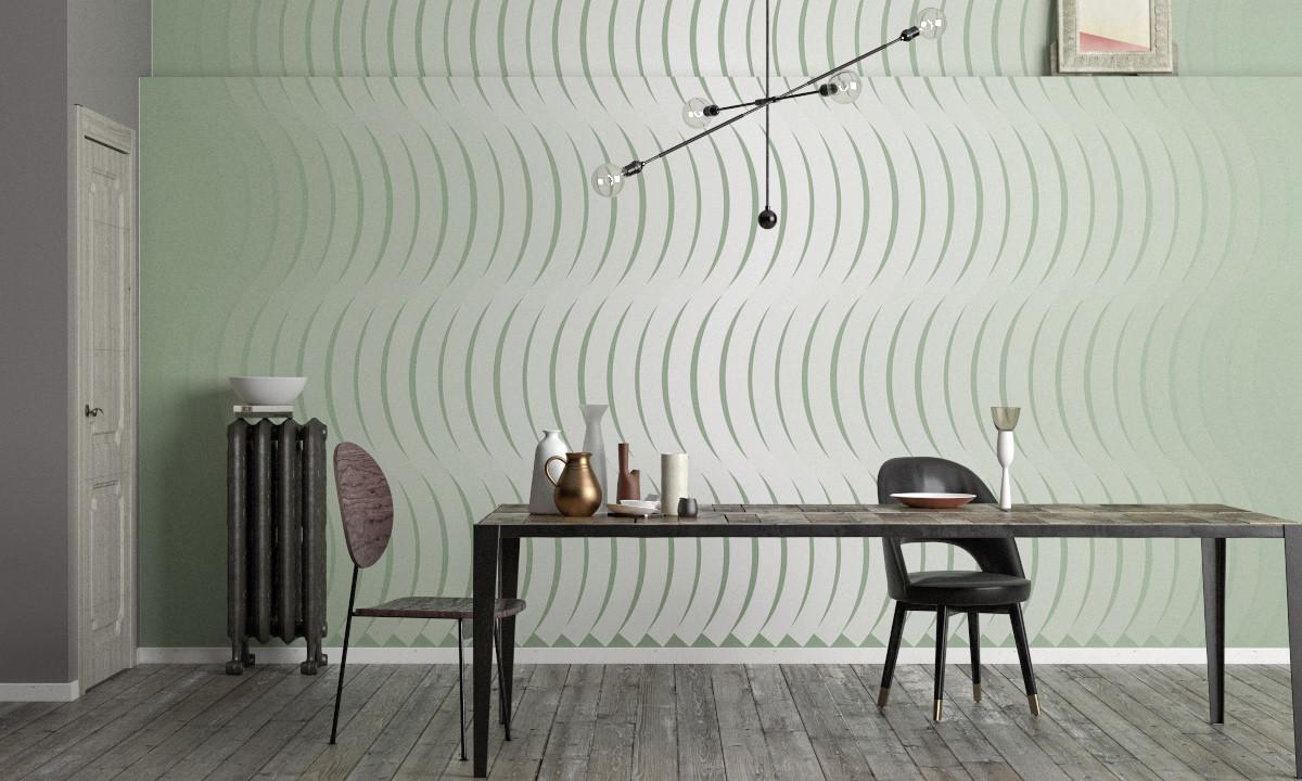 Wave Curton greygreen