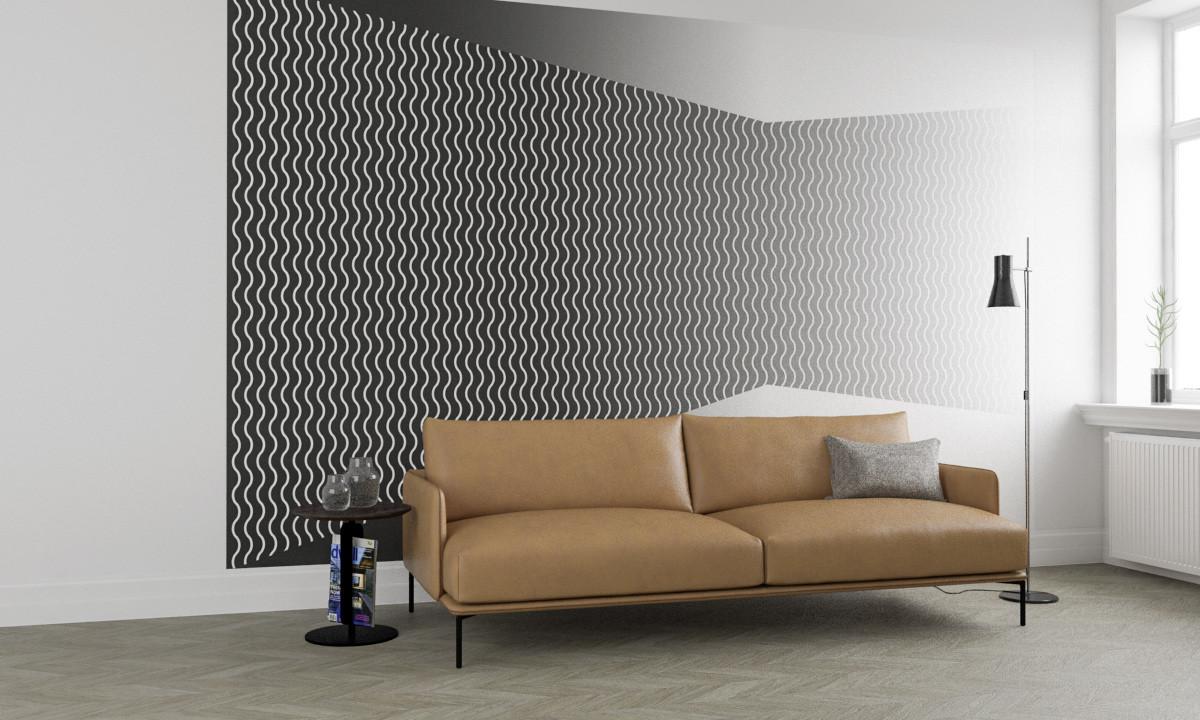 Wave Wall white-greygrey