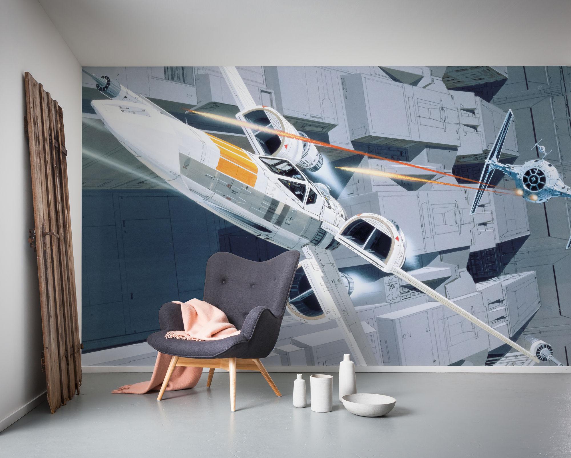 Star Wars Classic RMQ X-Wing vs TIE-Fighter