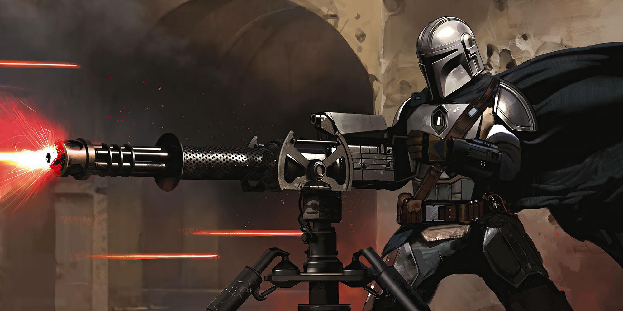 Star Wars The Mandalorian Blaster