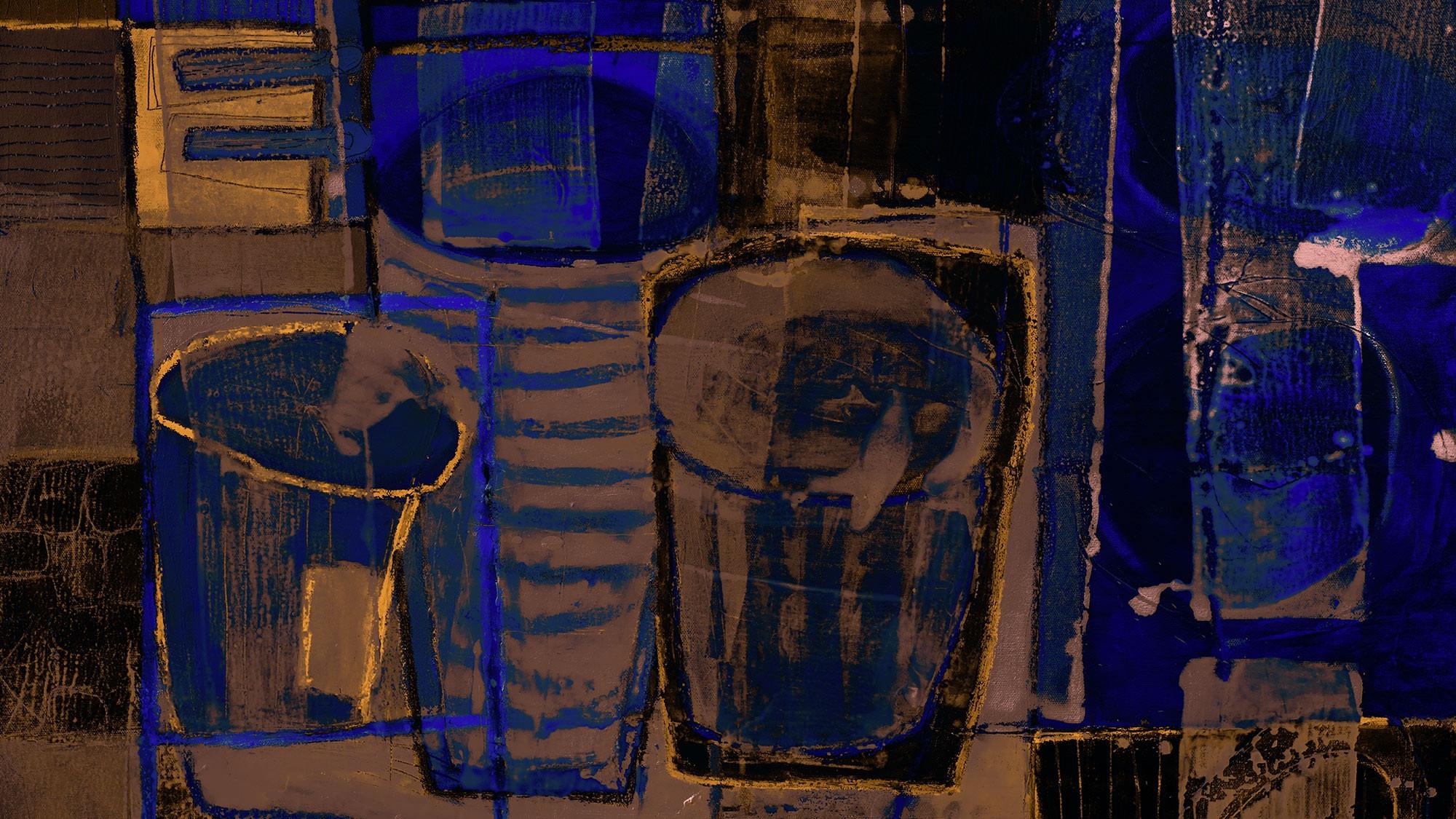 Drinks Spilling brown-blue
