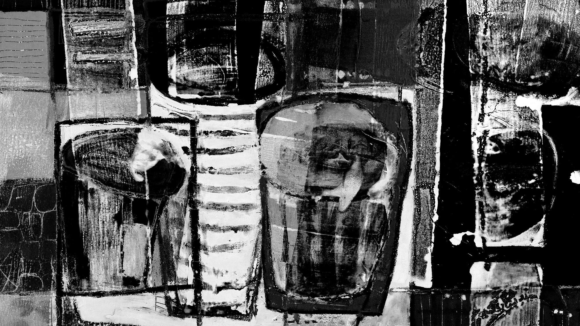 Drinks Spilling grey-black