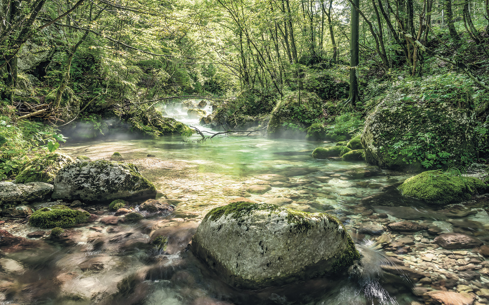 Fototapete Auf Vlies Tranquil Pool Von Stefan Hefele