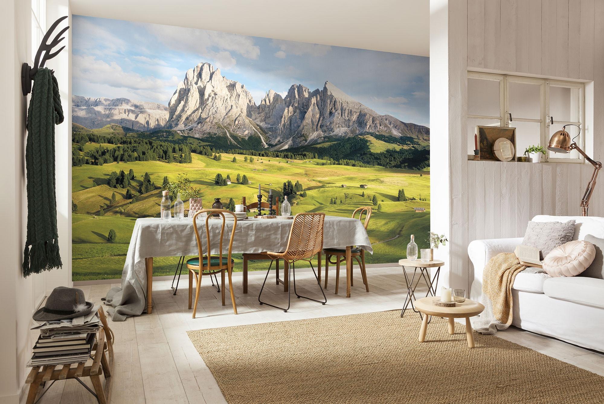 fototapete auf vlies alpen von stefan hefele. Black Bedroom Furniture Sets. Home Design Ideas