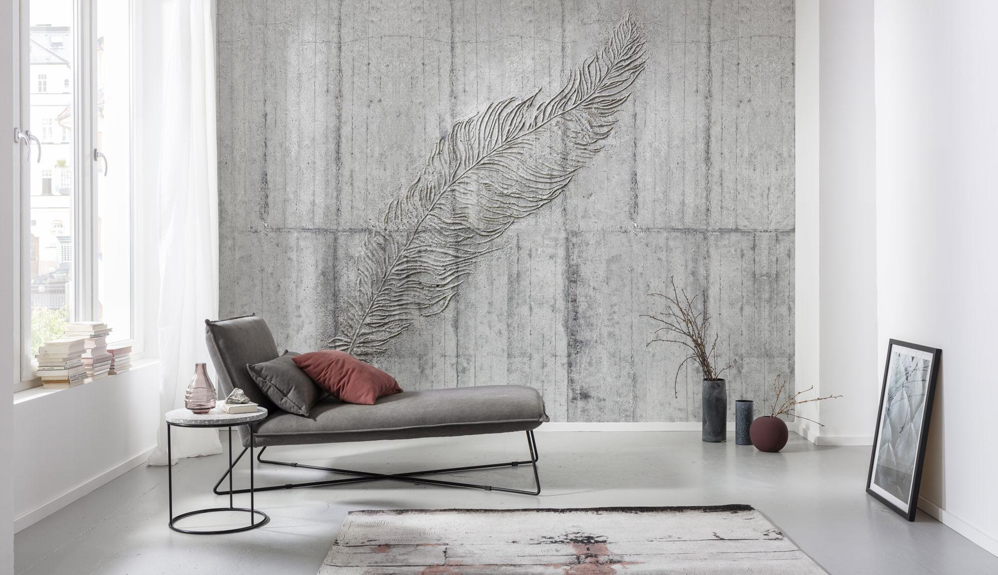 Concrete Feather