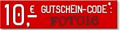 10€ Gutscheincode FOTO16 ab 25€ Bestellwert
