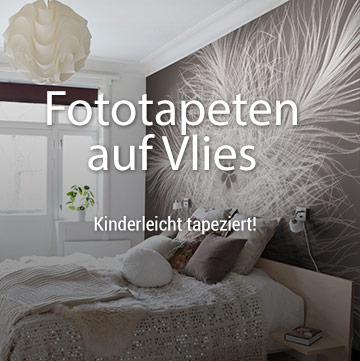 Fototapeten auf Vlies